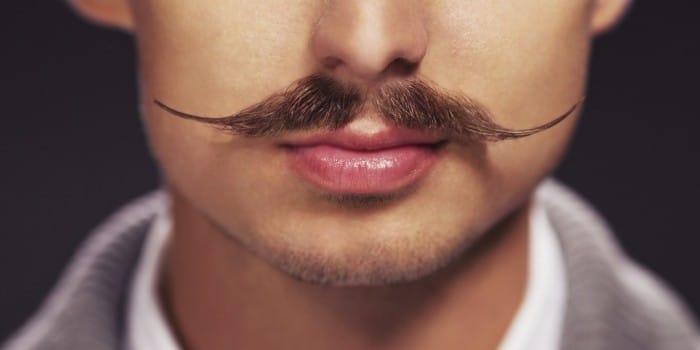 o bigode, um dos tipos de barba que desafia a gravidade