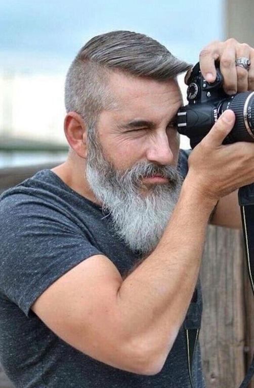 6 Ideias De Cortes Que Valorizam Os Cabelos Grisalhos Beard