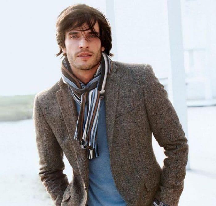 d36051c5f Como usar o cachecol masculino com muito estilo! 5 Ideias para você ...