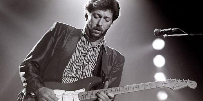 Eric Clapton representa bem o blues e o rock nas Playlists de Sucesso