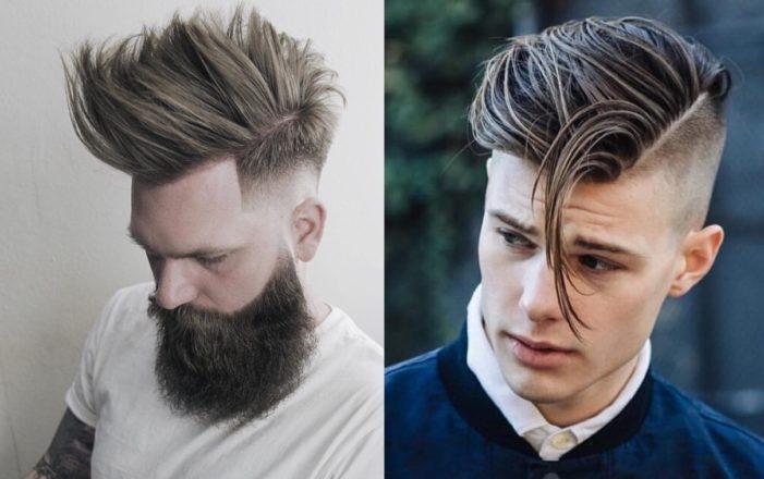 83e0dd63729 Corte em Camadas. Os cabelos curtos continuam fortes como Tendências para o cabelo  masculino 2018