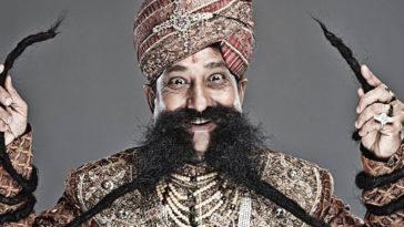 7 famosas barbas e Bigodes do Guinness World Records