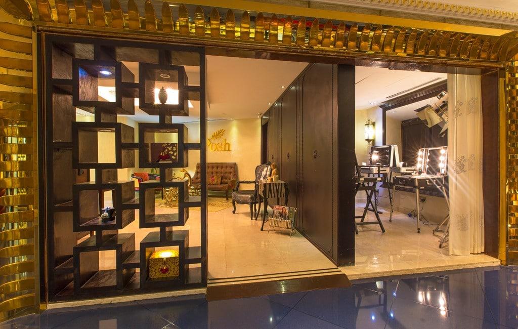 Eis uma das Barbearias de Luxo mais suntuosas, em um hotel 5 estrelas em Dubai