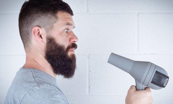secador na barba
